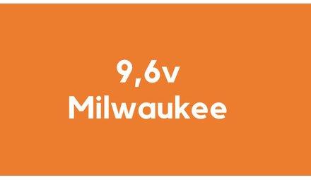9,6v accu voor Milwaukee