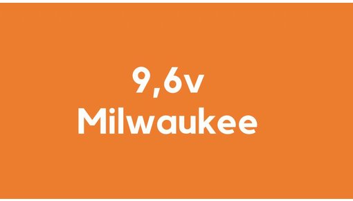 9,6v accu voor Milwaukee gereedschap