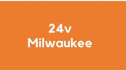 24v accu voor Milwaukee gereedschap