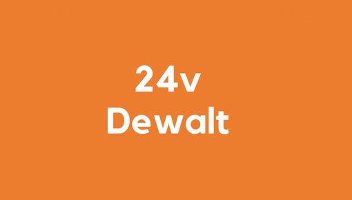 24v accu voor Dewalt gereedschap