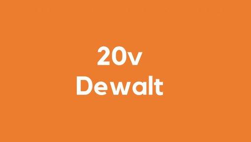 20v accu voor Dewalt gereedschap