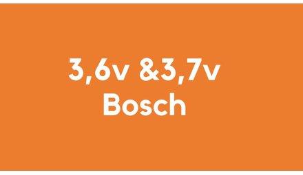 3,6v & 3,7v accu voor Bosch
