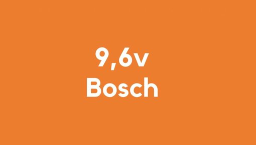 9,6v accu voor Bosch gereedschap