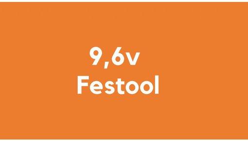 9,6v accu voor Festool gereedschap