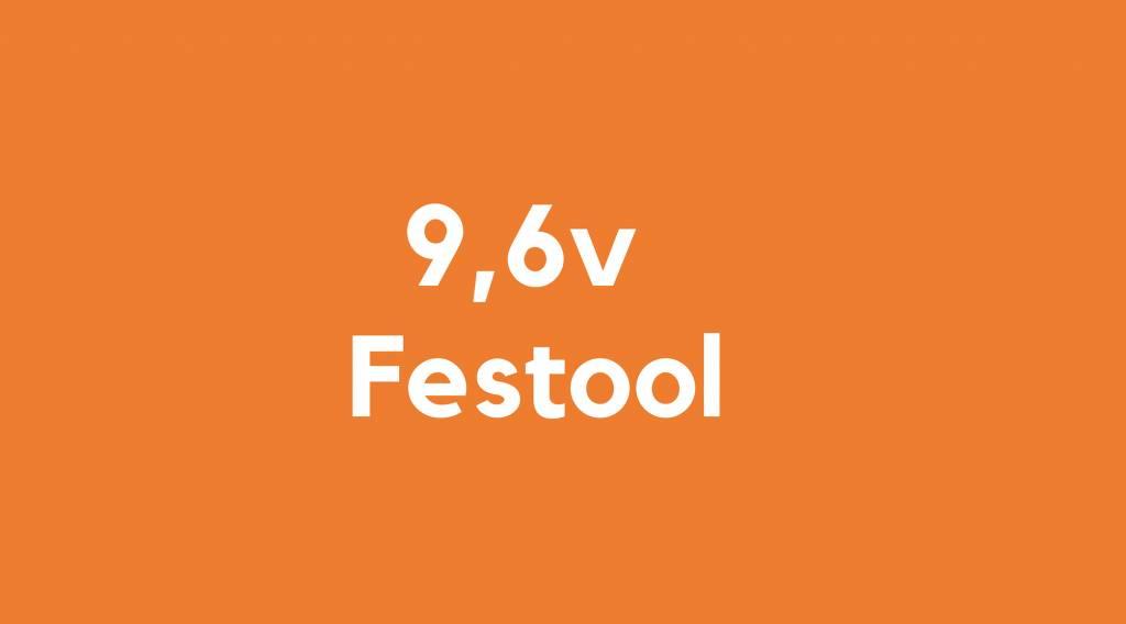 9,6v accu voor Festool