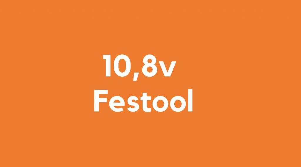 10,8v accu voor Festool