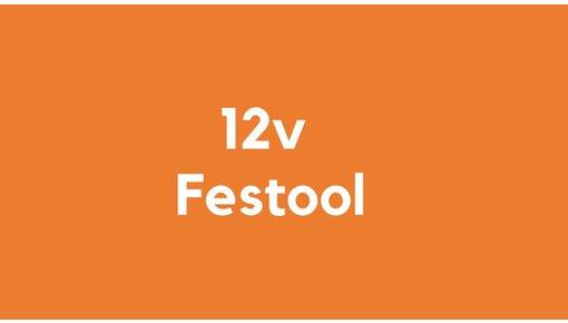 12v accu voor Festool gereedschap