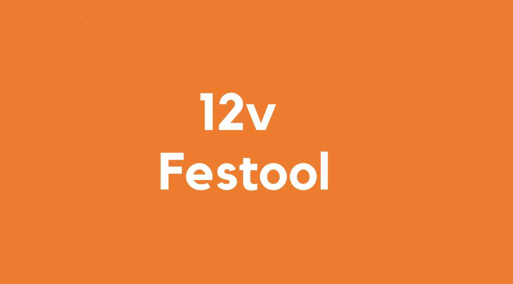 12v accu voor Festool