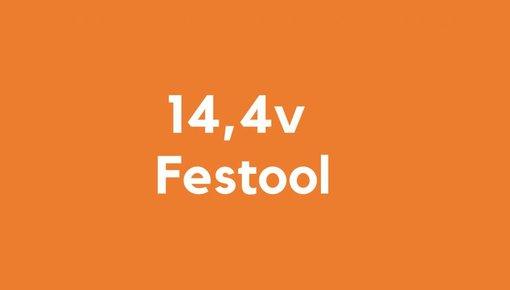 14,4v accu voor Festool gereedschap