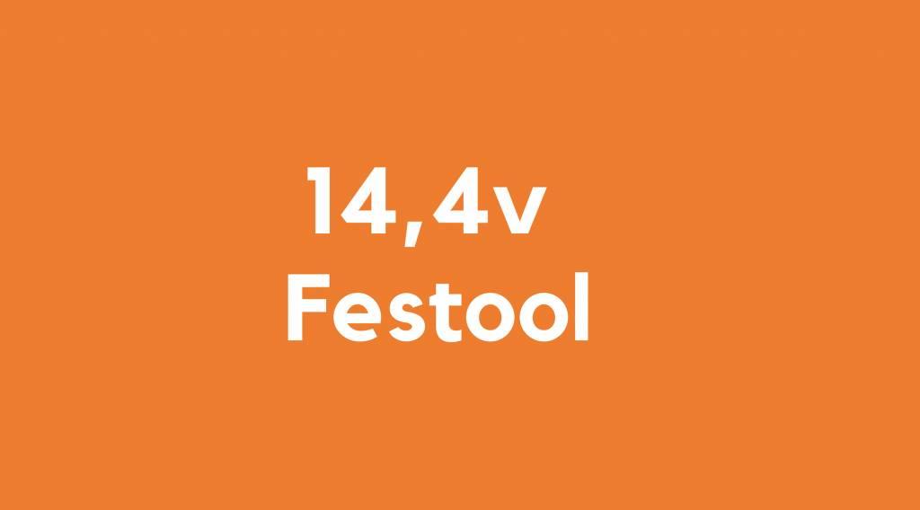 14,4v accu voor Festool