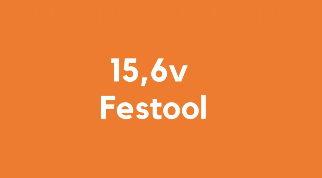 15,6v accu voor Festool