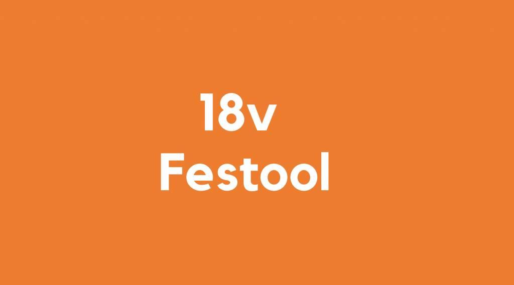 18v accu voor Festool