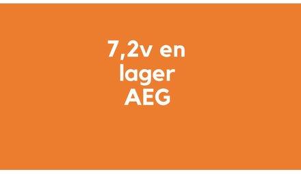 7,2v (en lager) accu voor AEG