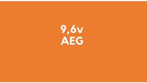 9,6v accu voor AEG gereedschap