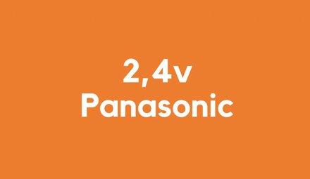 2,4v accu voor Panasonic
