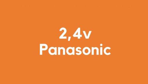 2,4v accu voor Panasonic gereedschap