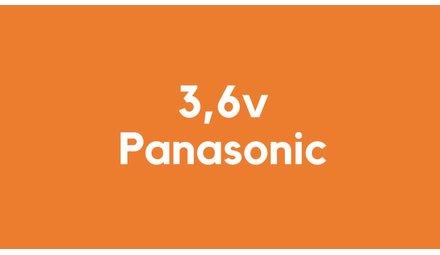 3,6v accu voor Panasonic