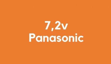 7,2v accu voor Panasonic