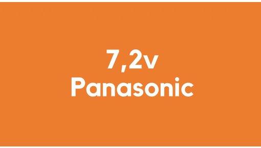 7,2v accu voor Panasonic gereedschap