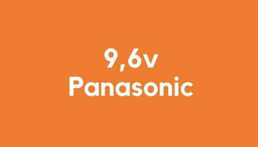 9,6v accu voor Panasonic gereedschap