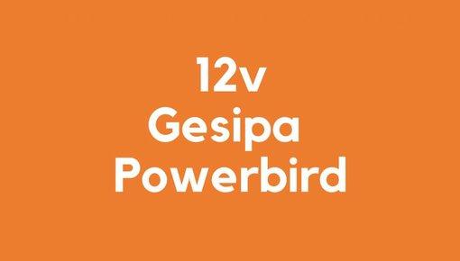 12v accu voor Gesipa Powerbird gereedschap