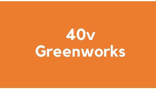 40v accu voor Greenworks gereedschap