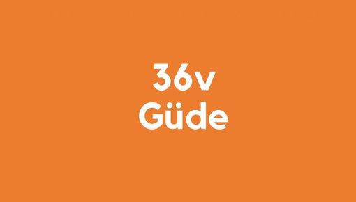 36v accu voor güde gereedschap