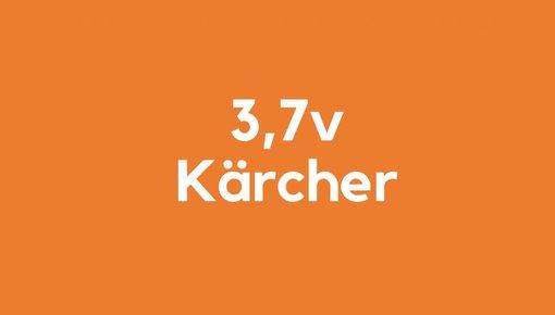 3,7v accu voor Kärcher gereedschap
