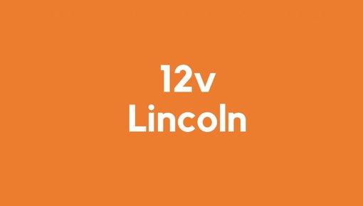 12v accu voor Lincoln gereedschap