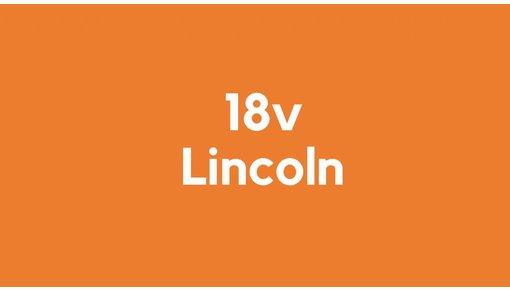 18v accu voor Lincoln gereedschap