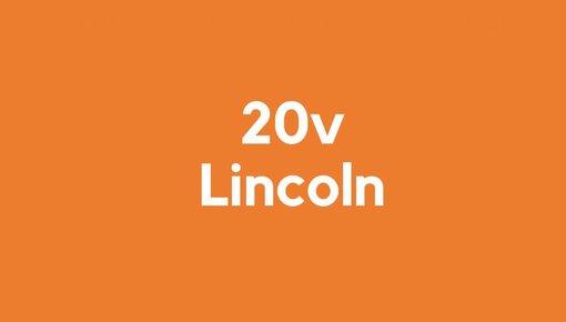 20v accu voor Lincoln gereedschap