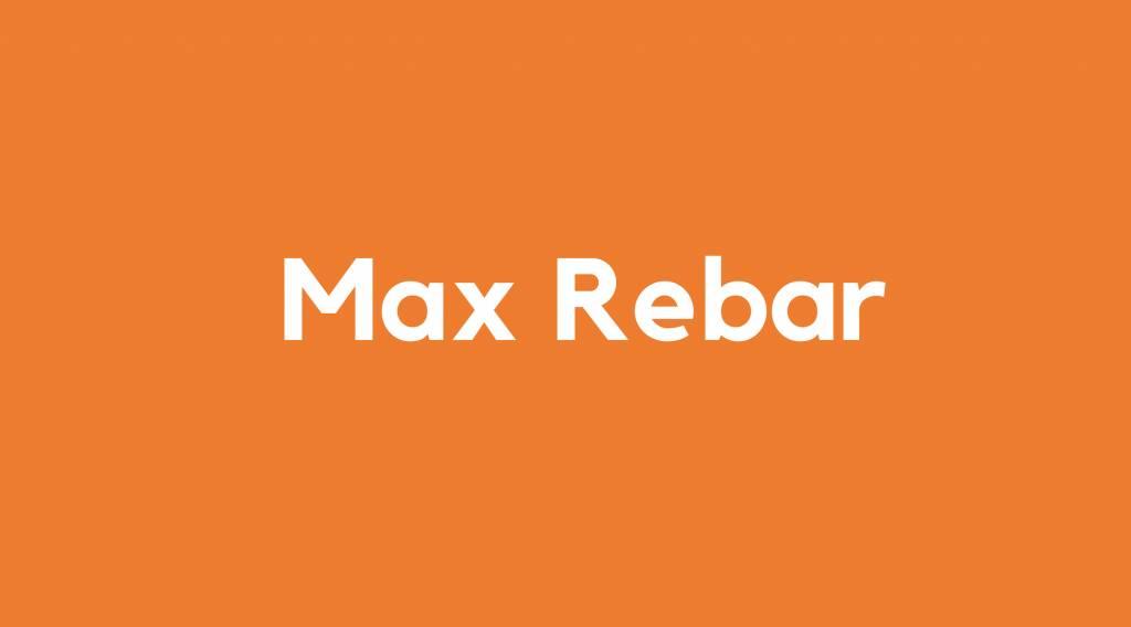 Accu voor Max Rebar