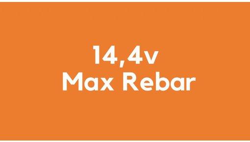 14,4v accu voor Max Rebar gereedschap