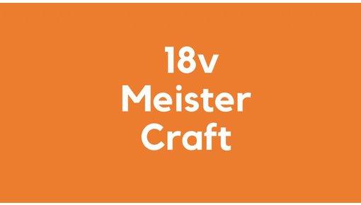 18v accu voor Meister Craft Gereedschap