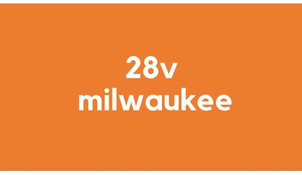 28v accu voor Milwaukee