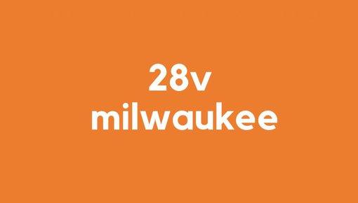28v accu voor Milwaukee gereedschap