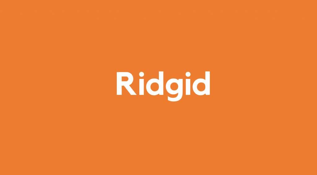 Accu voor Ridgid