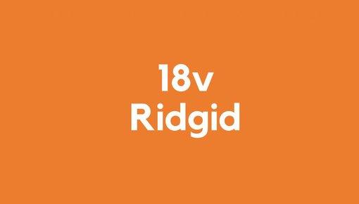 18v accu voor Ridgid gereedschap