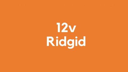12v accu voor Ridgid gereedschap