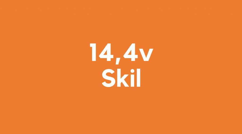 14,4v accu voor Skil