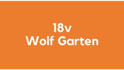 18v accu voor Wolf Garten gereedschap