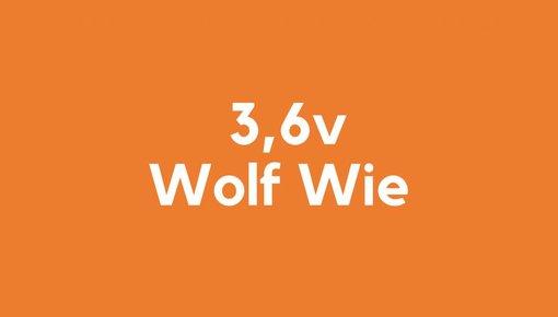 3,6v accu voor Wolf Wie gereedschap