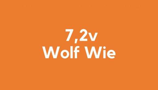 7,2v accu voor Wolf Wie gereedschap