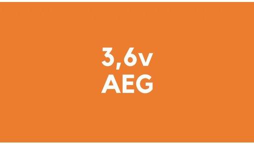 3,6v accu voor AEG gereedschap