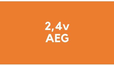 2,4v accu voor AEG