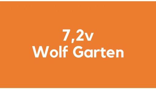 7,2v accu voor Wolf Garten gereedschap