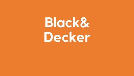 Lader voor Black&Decker gereedschap