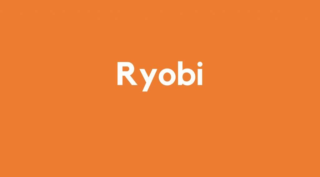 Lader Ryobi