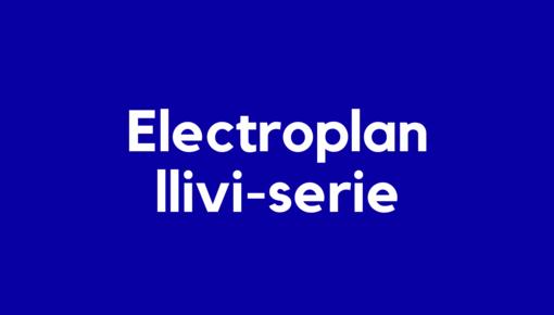 Accu voor Electroplan llivi-serie elektrische en robotstofzuigers