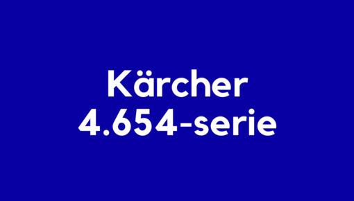 Accu voor Kärcher 4.654-serie elektrische en robotstofzuigers